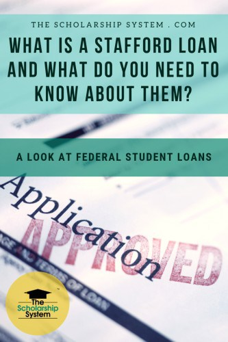 Many students rely on student loans to pay for college. The Stafford Loan is the most widely used option. Here's what you need to know about them.