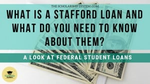 What is a Stafford Loan and What Do You Need to Know About Them?