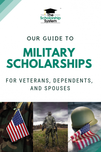 In addition to the GI Bill, servicemembers, spouses, veterans and dependents could be awarded military scholarships and grants