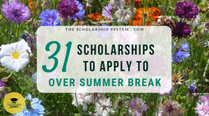 31 Scholarships To Apply To Over Summer Break