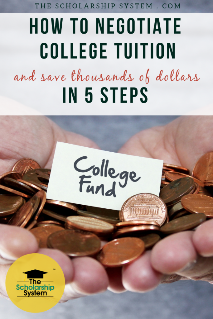 Average college tuition & fees increased by 9%. Still, you may be able to (surprisingly) save if you take the right steps to negotiate college tuition. Here are the 5 steps.