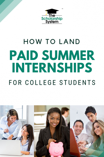 Paid summer internships for college students are one of the best options for gaining experience while earning some money. Here's a look at how to get one.