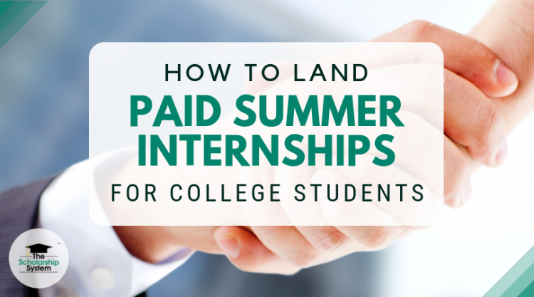 paid summer internships for college students