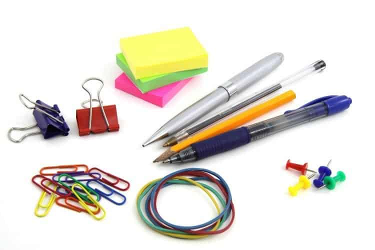 college supplies checklist