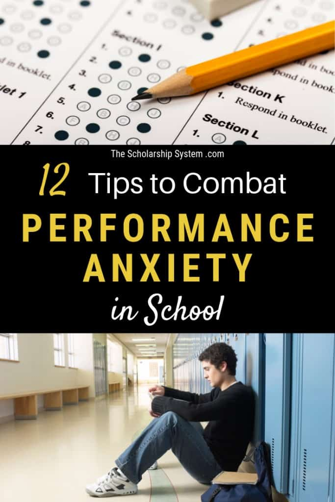 At some point, every student is probably going to suffer from performance anxiety in school. Here are some tips to overcome school anxiety.