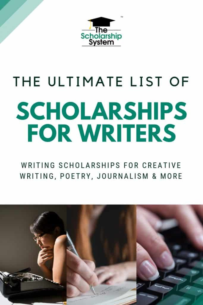 Scholarships for writers are pretty plentiful. If you're looking for writing scholarship opportunities, here is the ultimate list.