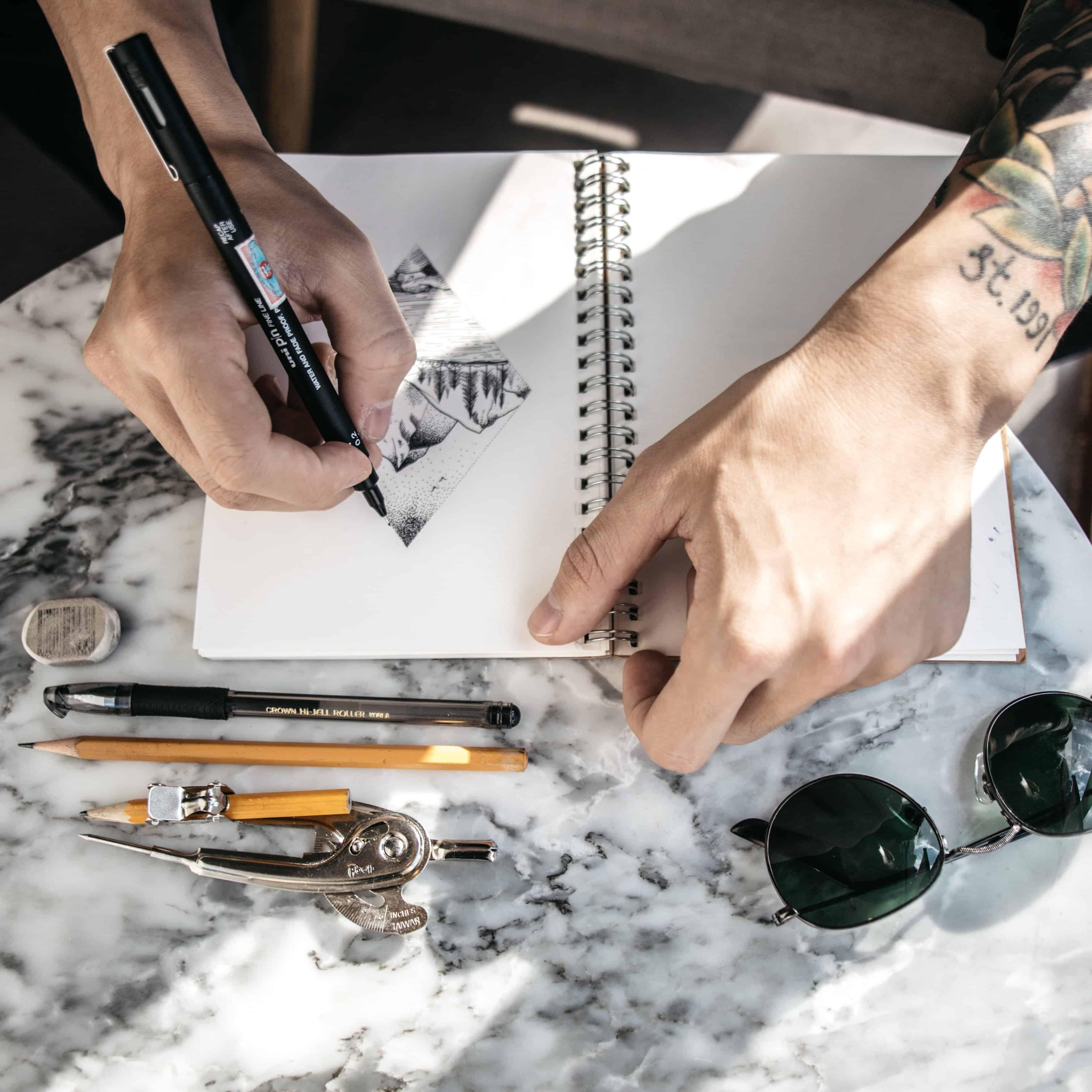drawing scholarships