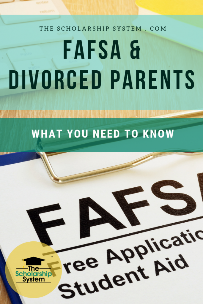 Completing the FAFSA with divorced parents can seem like a daunting task. Luckily, it doesn't have to be. Here's how to handle it.