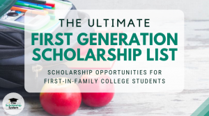 first generation scholarship