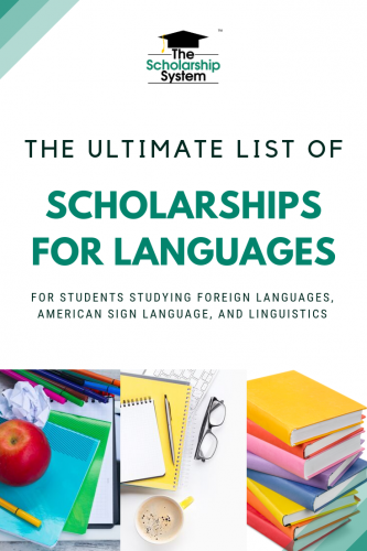 Pursing scholarships can be a great way to make college more affordable. Here's a look at scholarships for languages, covering many of the related majors.