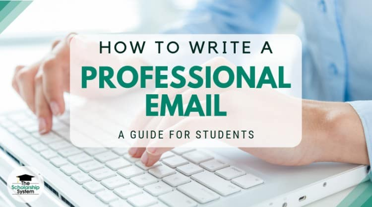 write a professional email