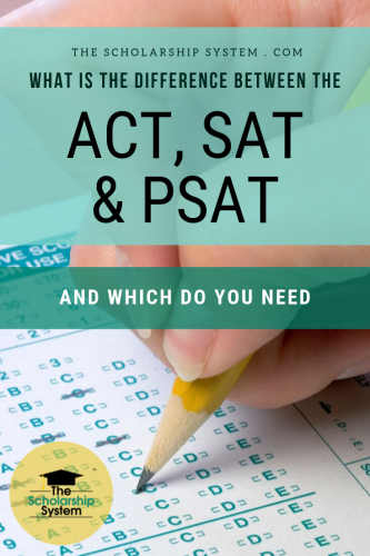 Standardized test scores can impact your ability to get into college. Here's a look at the ACT, SAT, and PSAT and which ones you need.