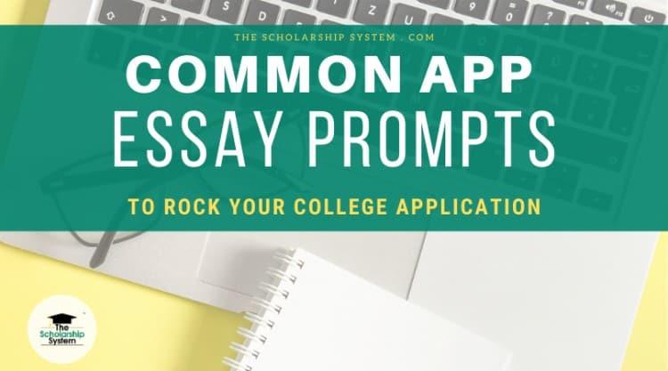 common app essay prompts