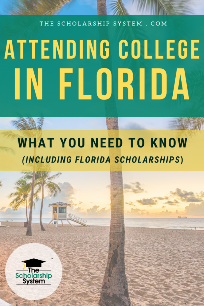 For many, going to college in Florida is the dream. If you want to become a Florida student, here's what you need to know, including Florida scholarships.