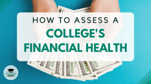 college's financial health