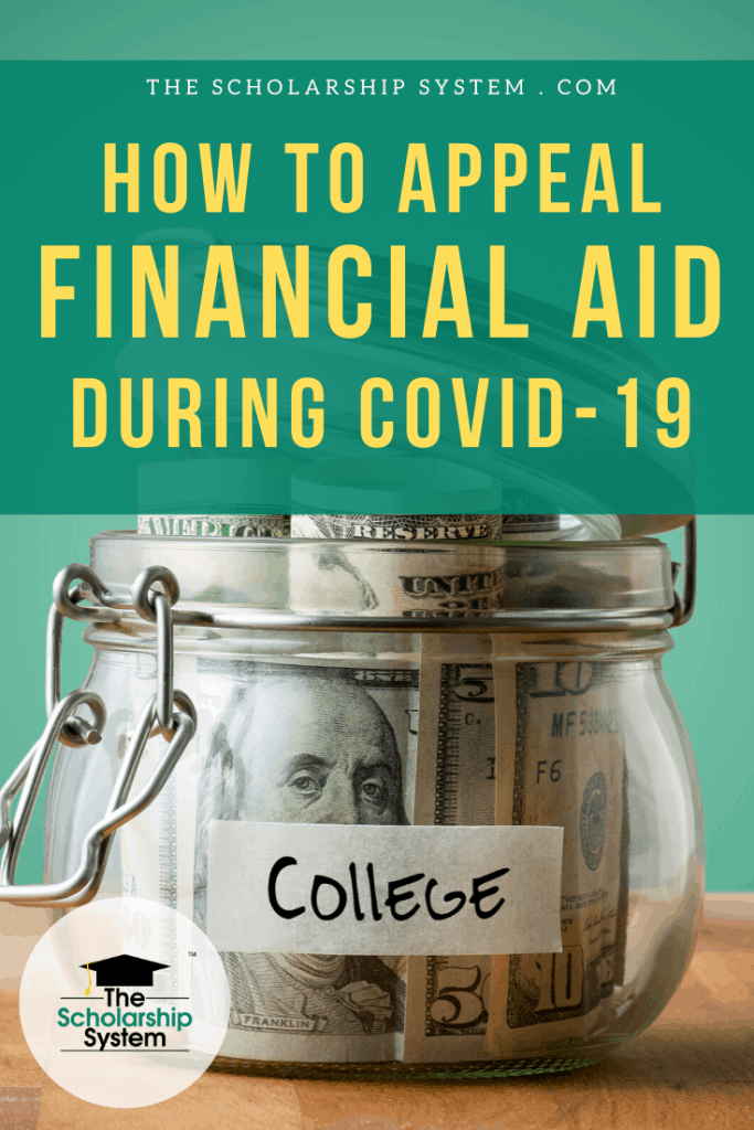 Many students financial situations have changed due to COVID-19. If you need to appeal financial aid, here's what you need to know.