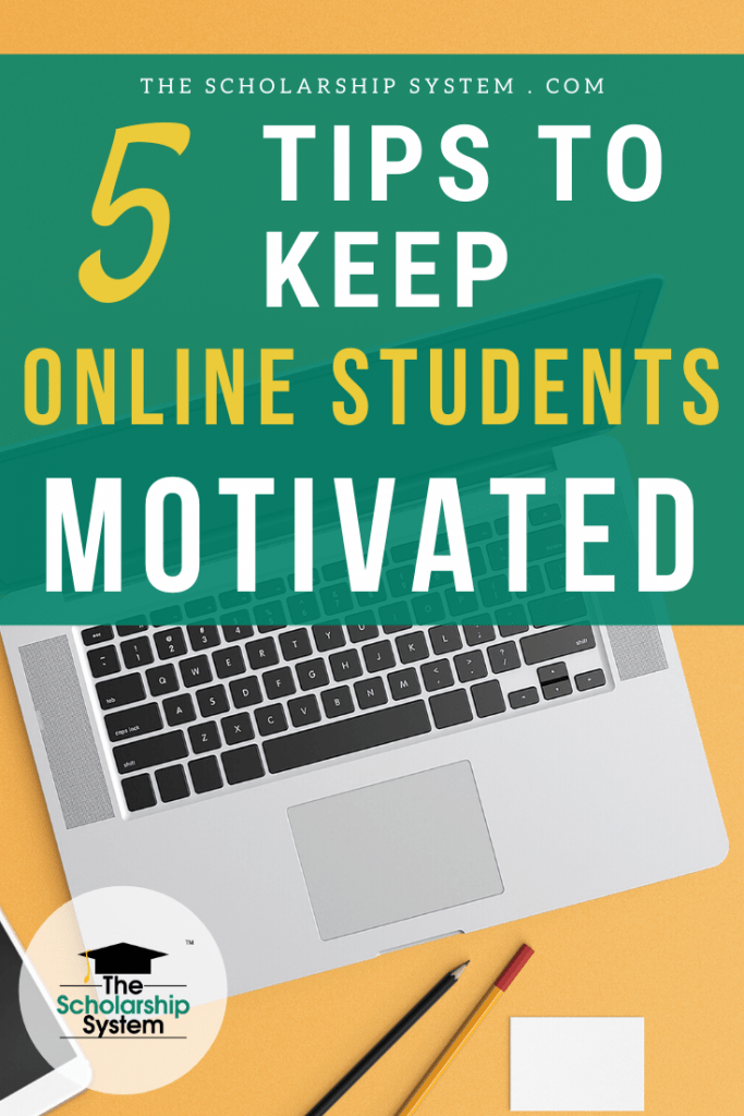 Finding ways to stay focused and dedicated is crucial for online students. If you're taking courses online, here are tips for keeping your motivation high.