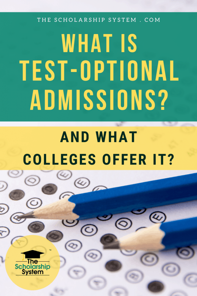 Many students aren't familiar with test-optional admissions. Here's a look at what it is, what colleges offer it, and more.