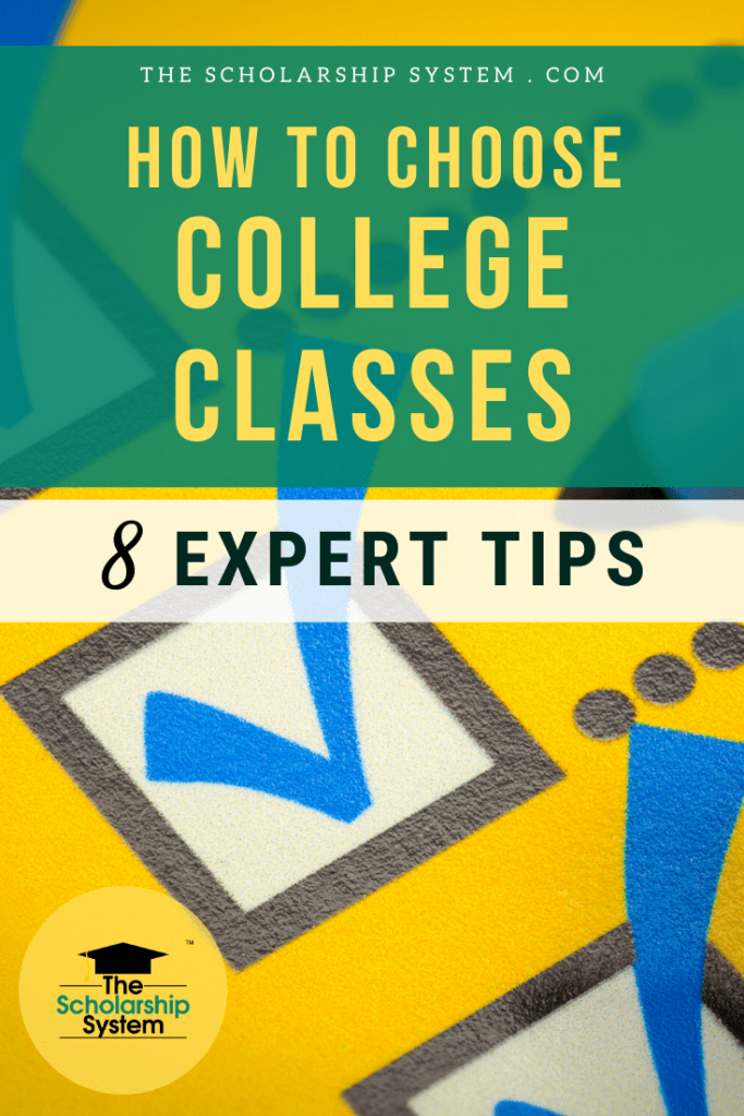 Putting a college schedule together is challenging. If you're struggling with how to choose college classes, here are some tips and strategies that can help