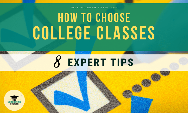 how to choose college classes