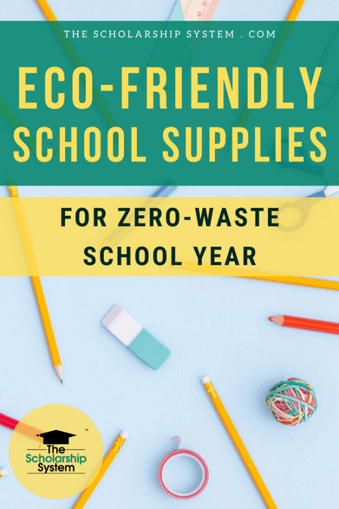 There are numerous eco-friendly school supplies are green, functional, and attractive. If you want a zero-waste school year, here are some great options.