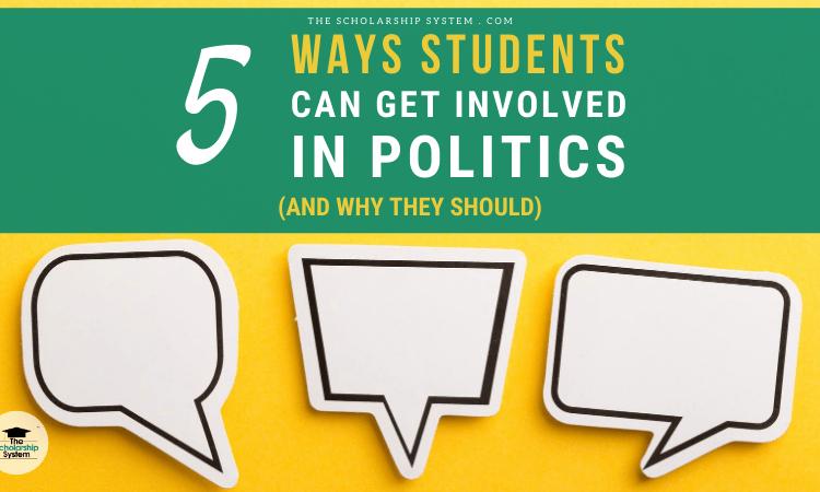 get students involved politics