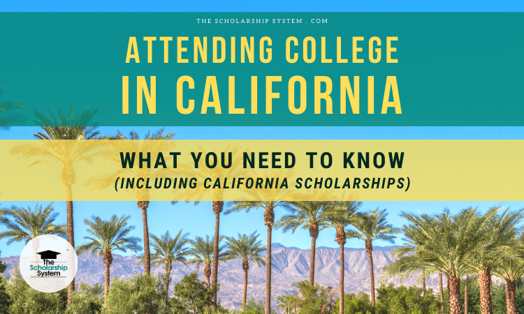 attending college in california
