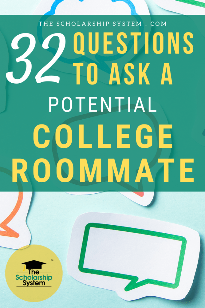 By having some questions to ask a potential college roommate at the ready, you can find a good match. If you aren't sure what to ask, here are some great options.