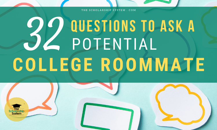 questions to ask a potential roommate for college