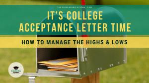 college acceptance letter