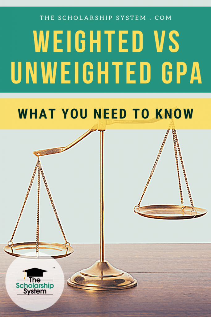 Weighted vs. unweighted GPA; it can be a bit confusing. If you want to know the difference, here's what you need to know about each type of GPA.