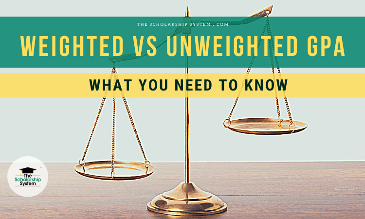 weighted vs unweighted gpa