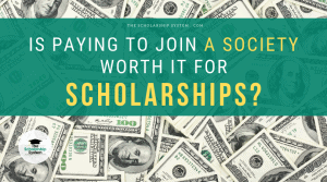 paying for scholarship opportunities