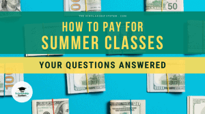 pay for summer classes