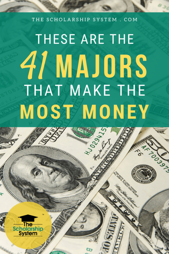 When you begin exploring majors, earnings potential is part of the equation. Here is a list of majors that make the most money typically.