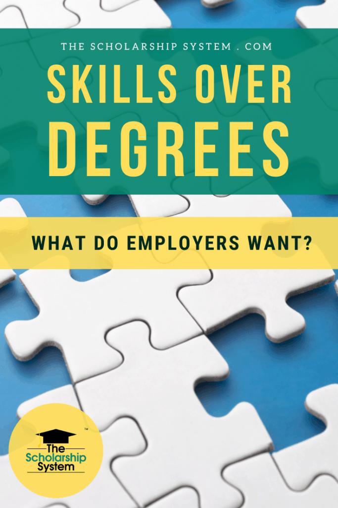 skills over degrees