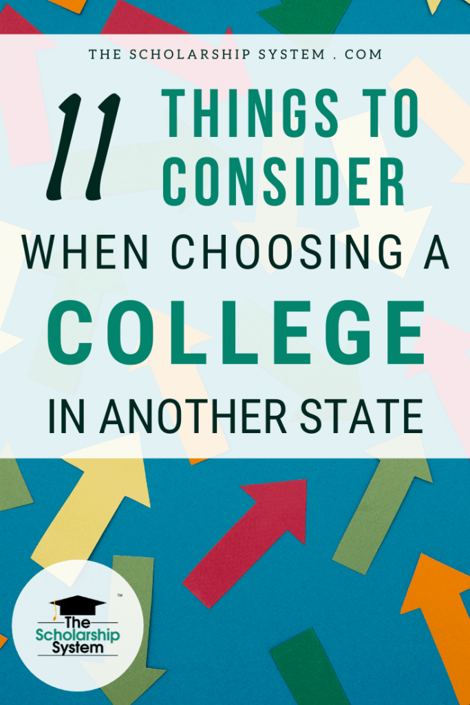 For college students, picking the right school is essential. Here are 11 things to consider when choosing a college in another state.