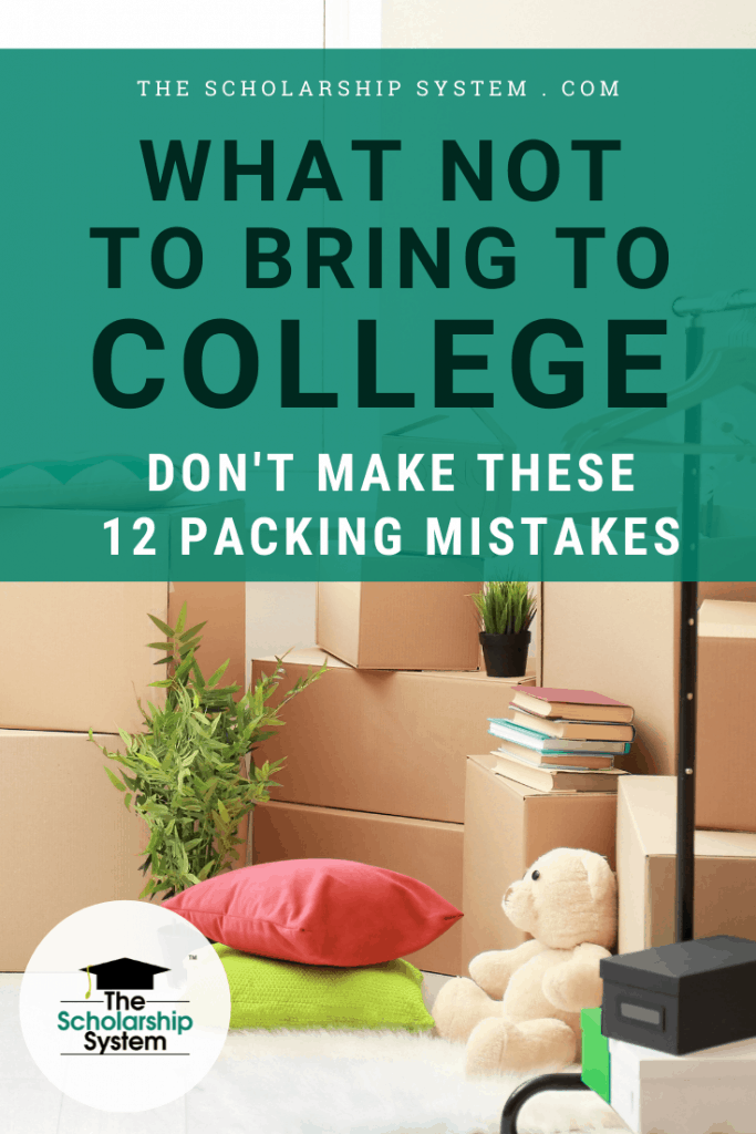 What not to bring to college; it's a surprisingly complex topic. If you aren't sure about what not to bring to a college dorm, here's what you need to know.