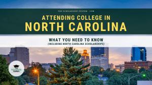 attending college in north carolina